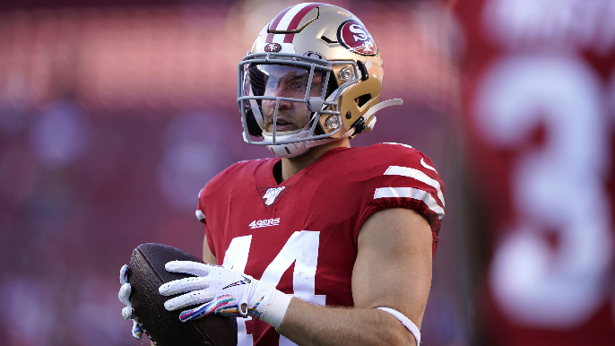 Kyle Juszczyk suffered MCL sprain, expected to return for 49ers this season
