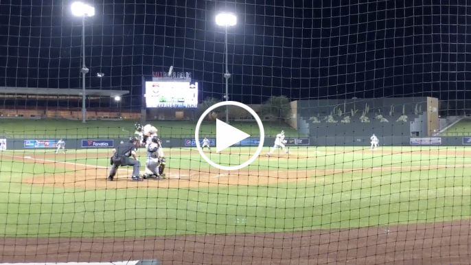Joey Bart leaves Fall League game after being hit on hand