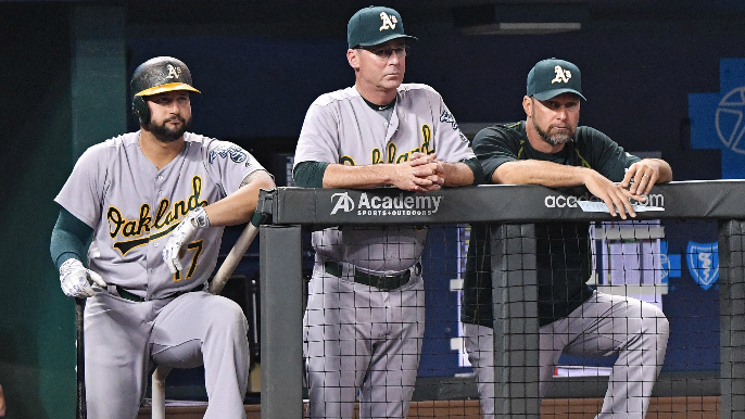 A's coach to interview for Giants' managerial opening [report]