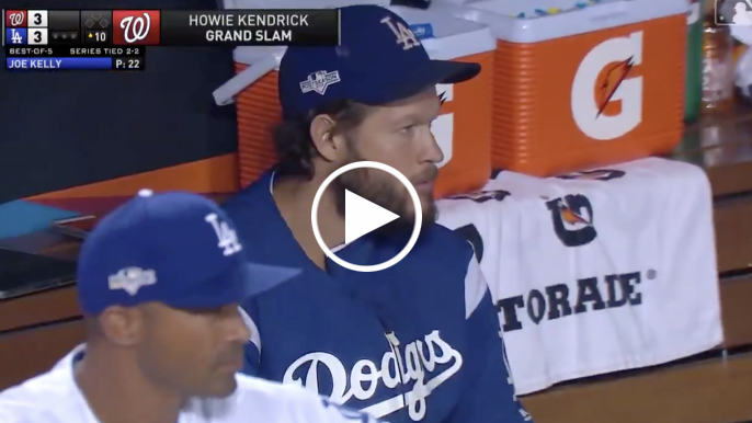 Howie Kendrick breaks tie in series deciding game vs. Dodgers with 10th inning grand slam