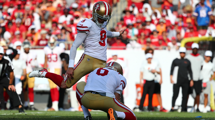 Robbie Gould takes blame for missed field goals: 'This is by far the worst I've ever kicked'