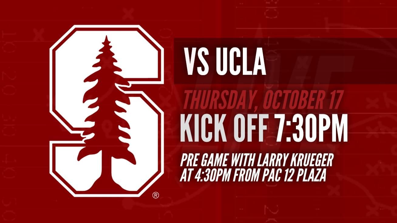 October 17th: Stanford vs UCLA