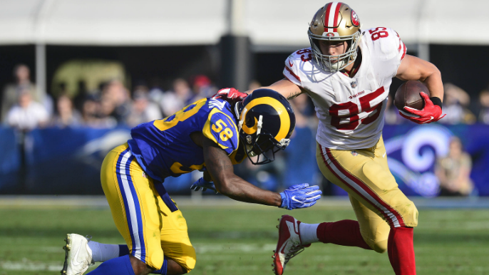 Top 5 performances from 49ers Week 6 win vs. the Rams