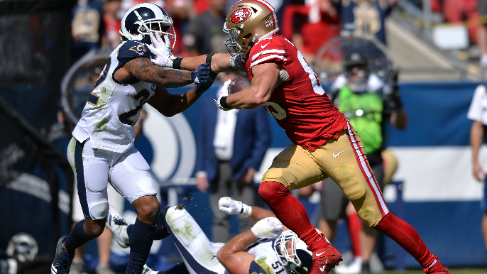 49ers Roll to Win Over Rams
