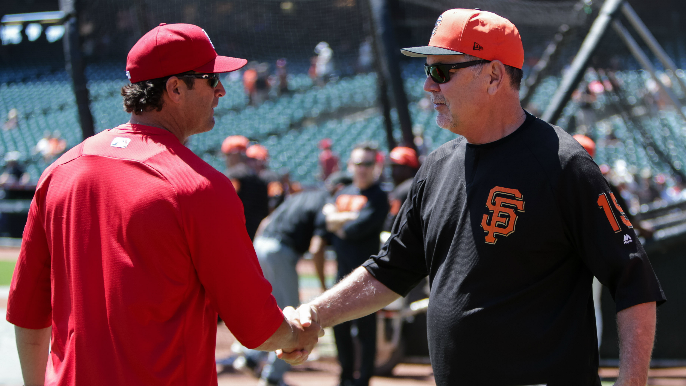 San Francisco showing interest in former Giants catcher for managerial opening [report]
