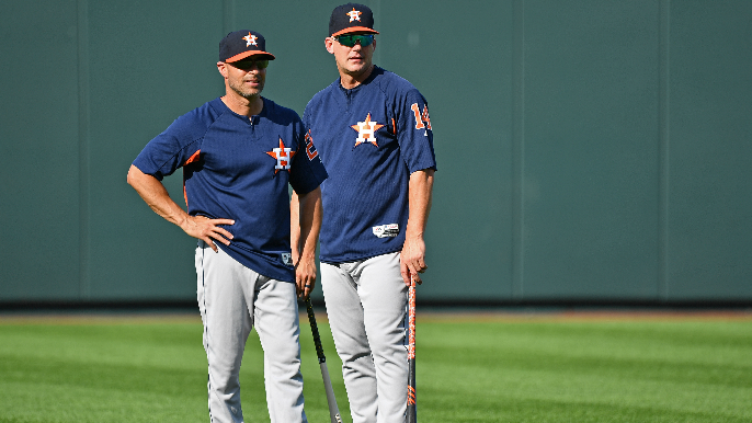 Giants have asked Astros permission to interview coach for managerial opening [report]
