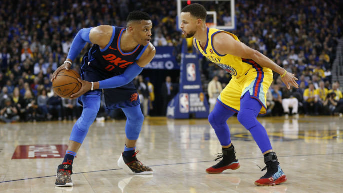 KD gives his answer for who's better: Stephen Curry or Russell Westbrook?