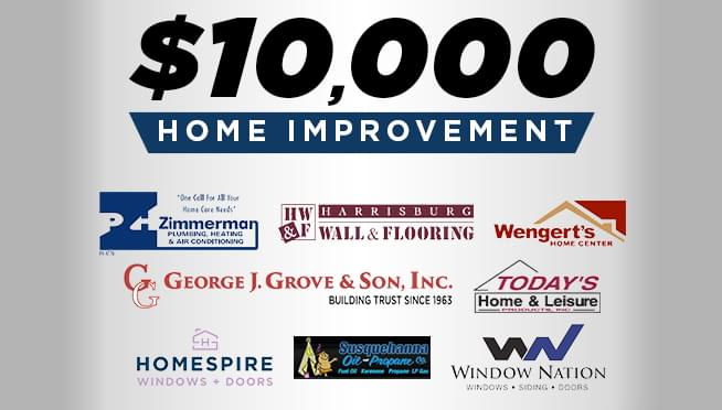 Win a $10,000 Home Improvement!