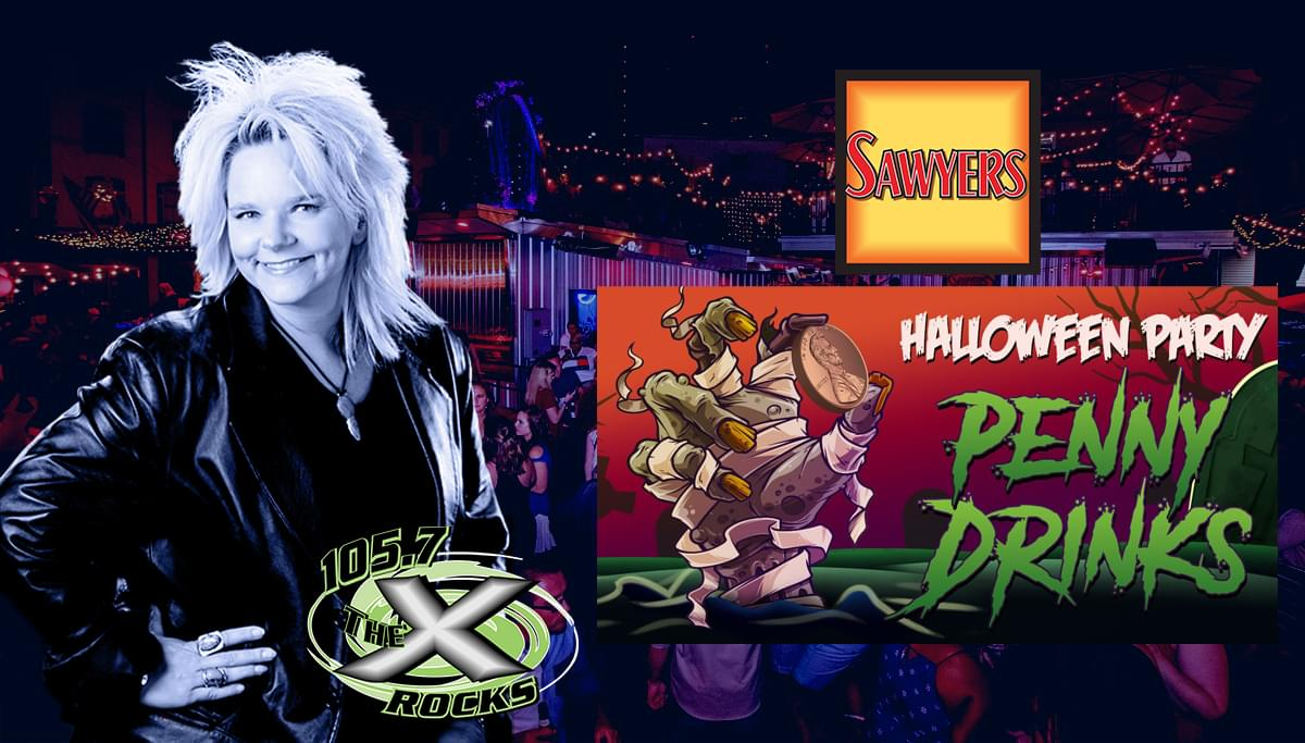 Jen Shade will be at Sawyer's Halloween Penny Drinks on October 26th!