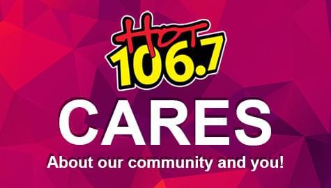 HOT 106.7 CARES!