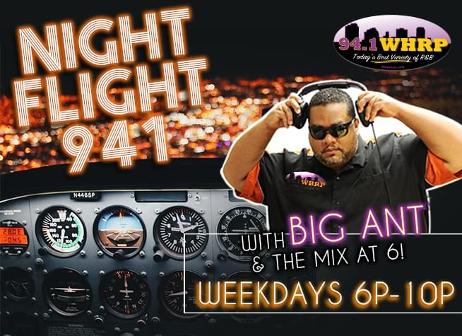 WHRP NIGHT FLIGHT 941 WITH BIG ANT