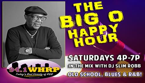 """The """"WHRP Happy Hour"""" With Big O """"The Mayor Of Soul""""!"""