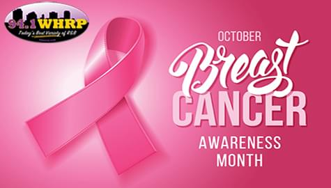 Join 94.1 WHRP In Support Of Breast Cancer Awareness Month!