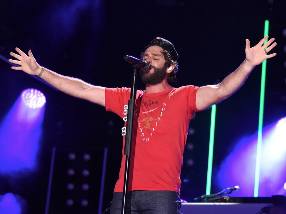 "Thomas Rhett's New Album, ""Center Point Road,"" Debuts Atop the All-Genre Billboard 200 Chart"