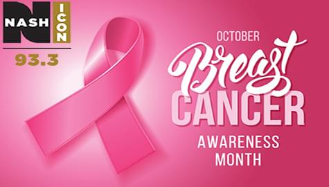 Join 93.3 Nash Icon In Support Of Breast Cancer Awareness Month!