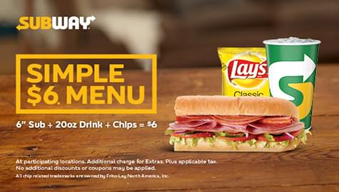 """Win Subway® """"Deals Are Delicious"""" Gift Cards For You And A Friend!"""