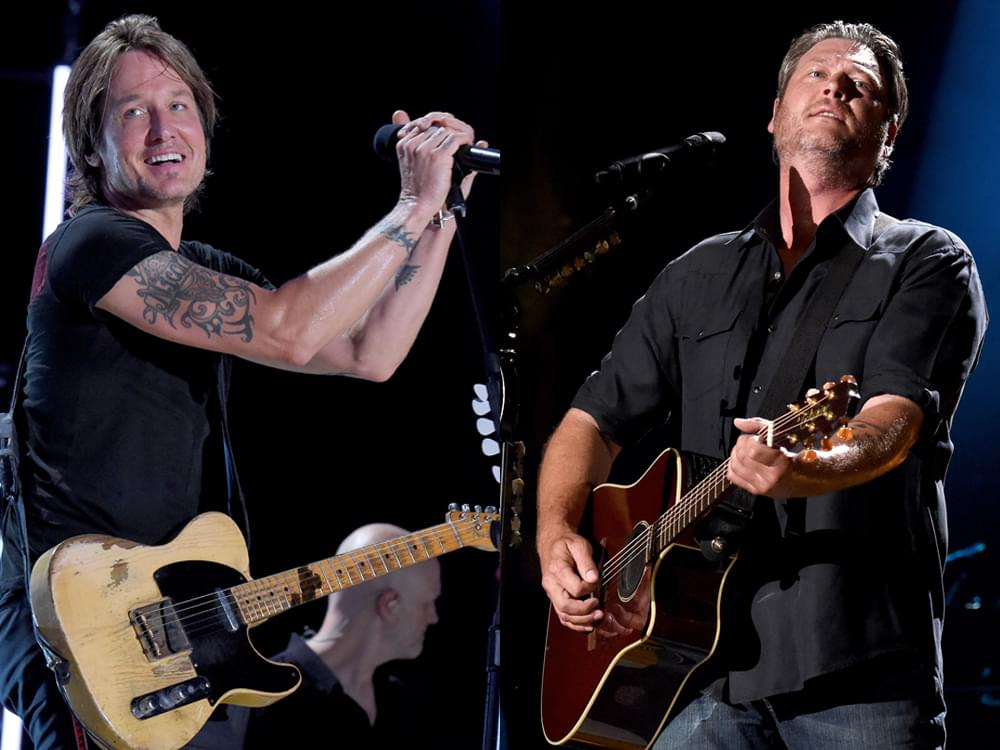 """Keith Urban, Blake Shelton, Luke Combs, Chris Stapleton & More to Perform at """"All for the Hall"""" Benefit Concert"""