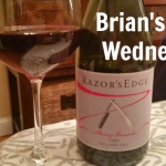 Brian's Wine Wednesday: Razor's Edge Shiraz Grenache