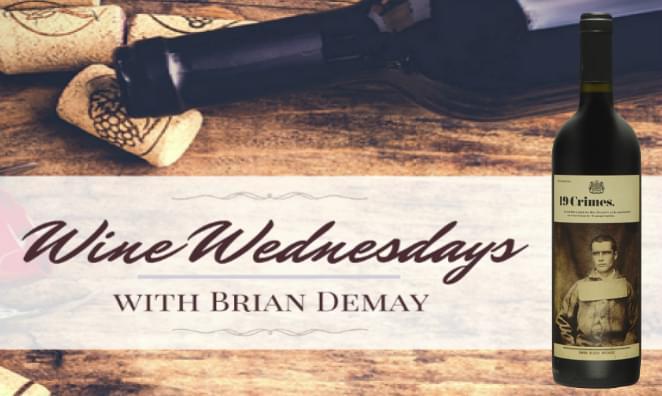 Brian's Wine Wednesday: 19 Crimes Red Wine | Lite Rock 105