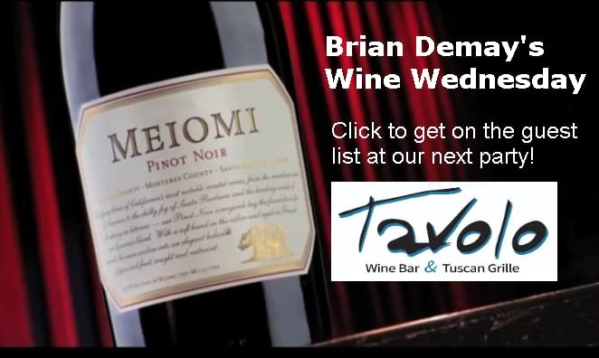 Brian's Wine Wednesday: Meiomi Pinot Noir