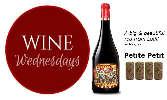 Brian's Wine Wednesday: Petite Petit 2013