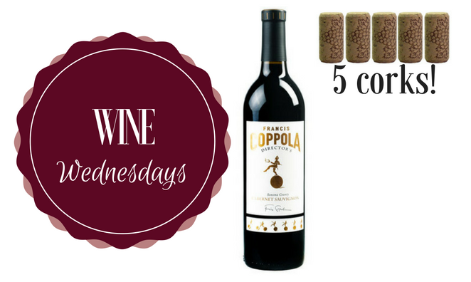 Wine Wednesday: 2013 Francis Ford Coppola Director's Cut Cabernet