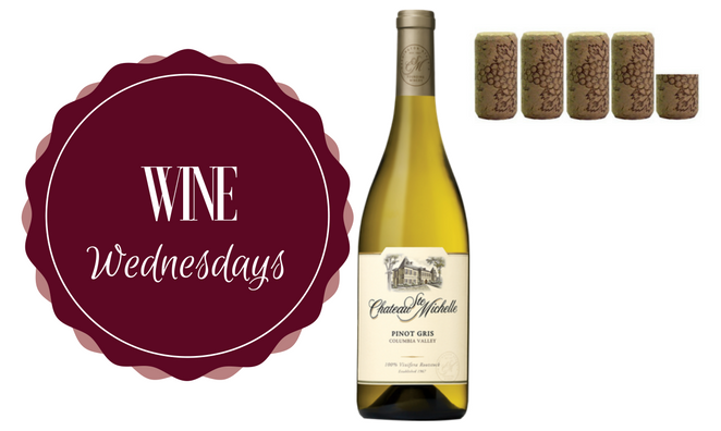 Wine Wednesday: 2014 Chateau Ste. Michelle Pinot Gris
