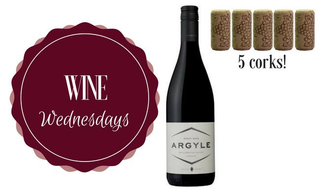 Wine Wednesday: Argyle Pinot Noir 2014