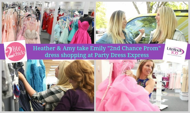 A 2 Lite Chicks Video: Dress Shopping for the Boss at Party Dress Express