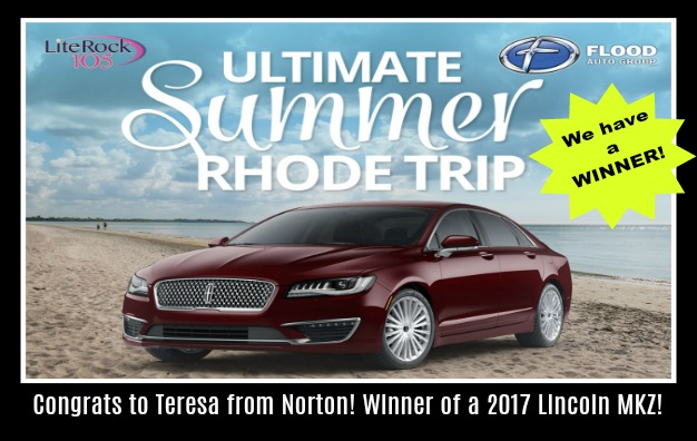 Congrats to Teresa from Norton, MA >> Our ULTIMATE SUMMER RHODE TRIP Grand Prize WINNER!