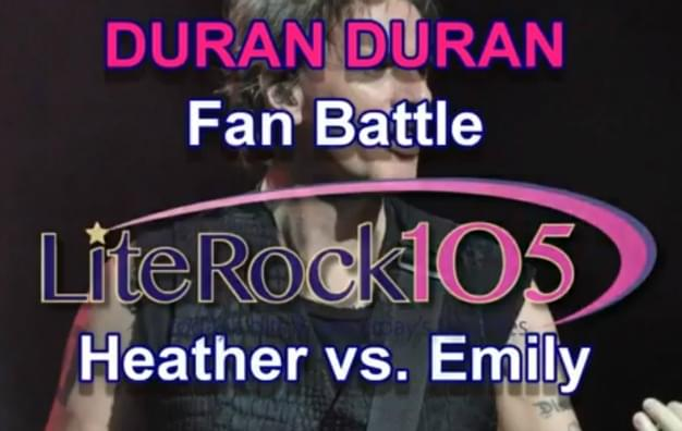 Heather vs. Emily: The Duran Duran Super Fan Battle
