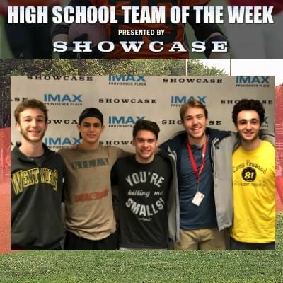 East Greenwich Boys Volleyball Team