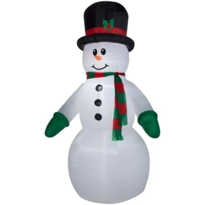 The holidays can get to everyone, even the inflatables!