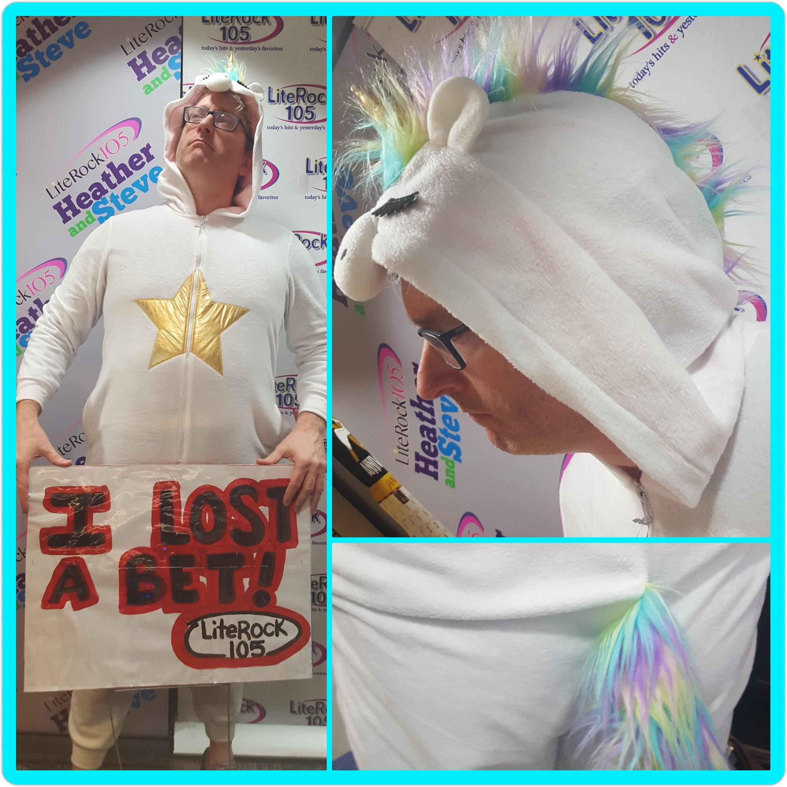 LOOK OUT! It's Steve, the Unicorn!