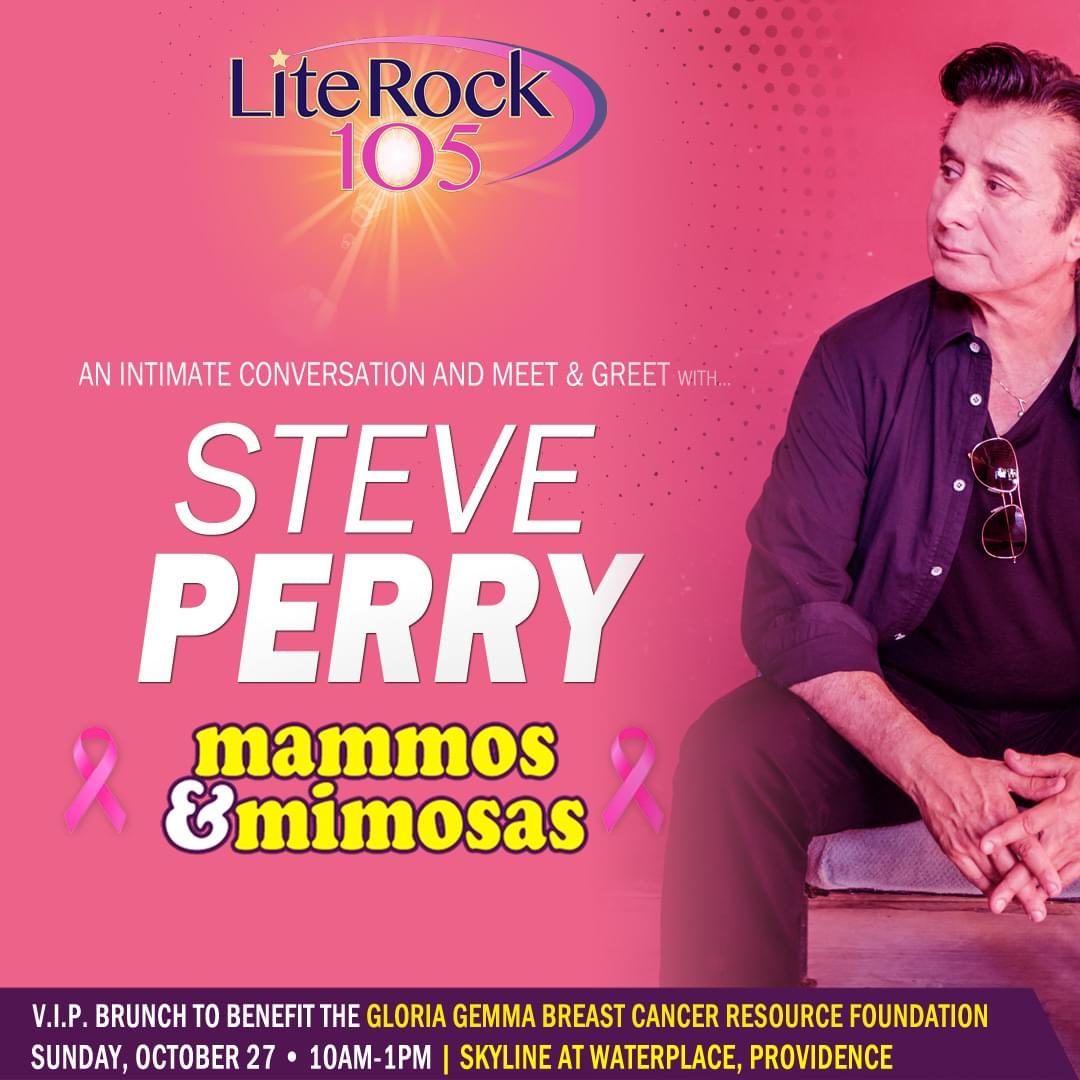"The ""Mammos & Mimosas"" Brunch with Lite Rock 105 and Steve Perry!"