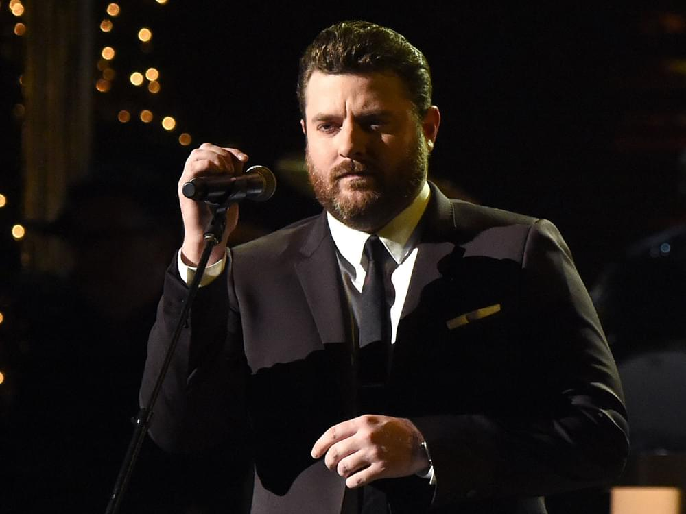 """Watch Chris Young Perform """"Drowning"""" in Honor of Kane Brown's Late Drummer at CMT Awards"""