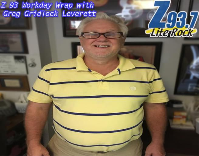 Z93 Workday Wrap with Greg Gridlock Leverett