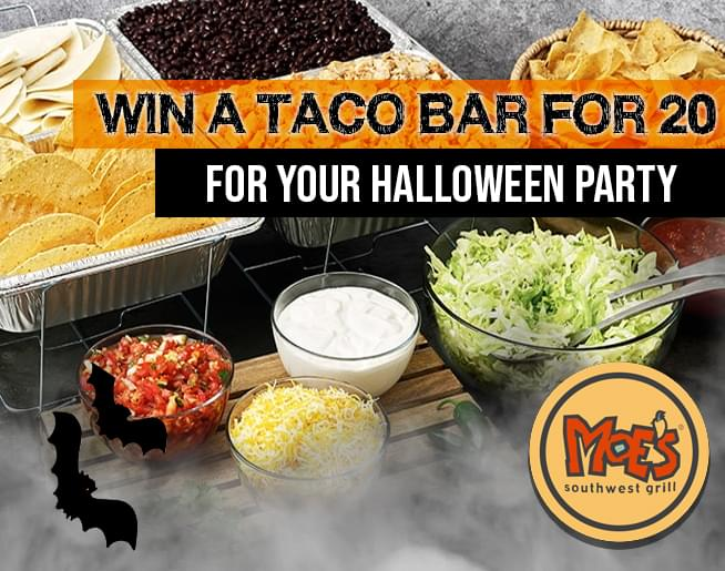 Moe's Southwest Grill – Win A Taco Bar for 20