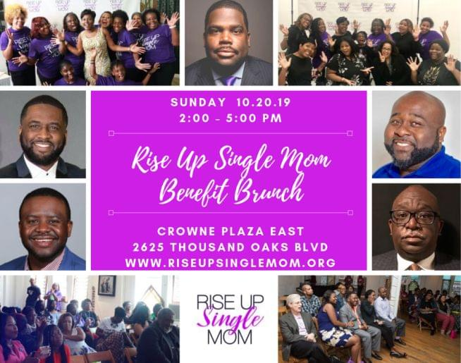 Rise Up Single Mom Benefit Brunch – Crowne Plaza East