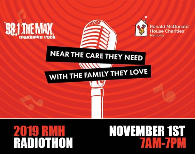 2019 Ronald McDonald House Radiothon Memphis