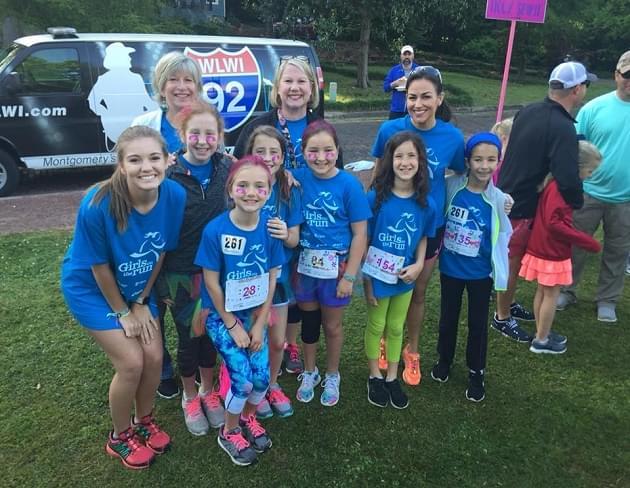 Girls on the Run 5K at Cloverdale Park