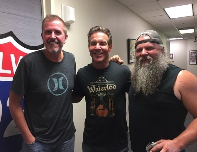 Jamey Johnson and Dennis Quaid on Homecoming Concert and the Cause [AUDIO]