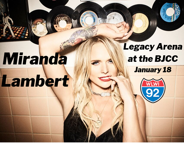 Miranda Lambert Wildcard Tour Headed to Legacy Arena