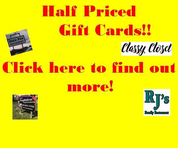 Half Priced Gift Cards