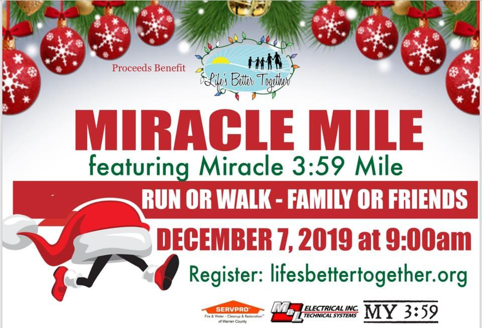 Miracle Mile and Christmas Parade is two months away