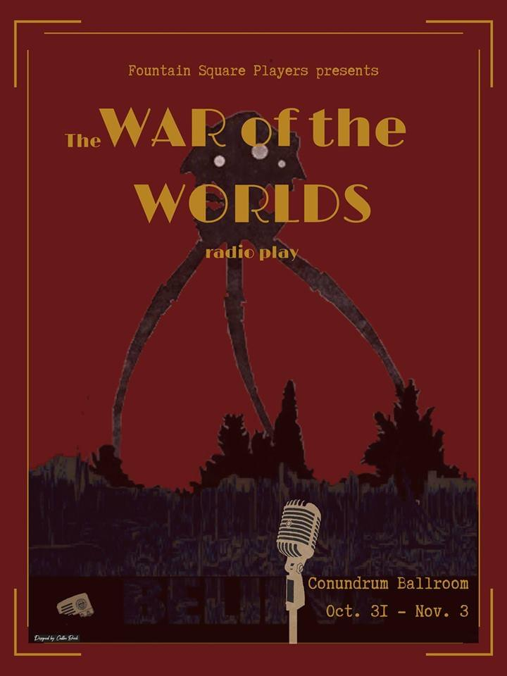 Fountain Square Players present War of the Worlds for Halloween