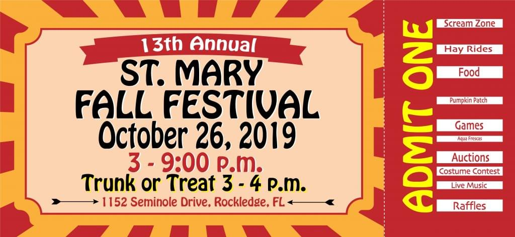 St. Mary's 13th Annual Fall Festival