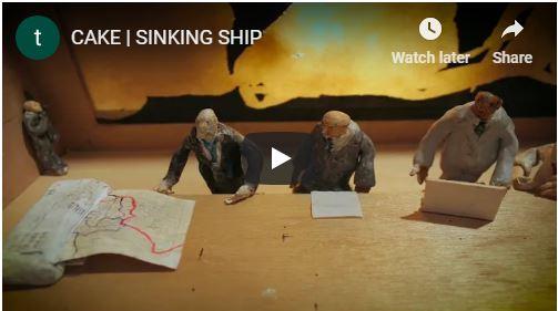 VIDEO: Cake – Sinking Ship