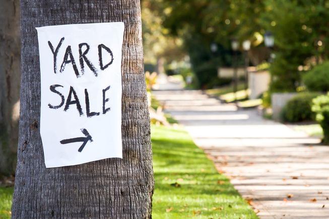 Community Yard Sale & Vendor Event
