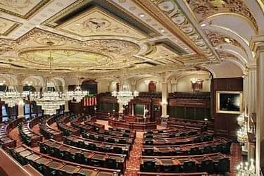 Illinois Capitol Floor